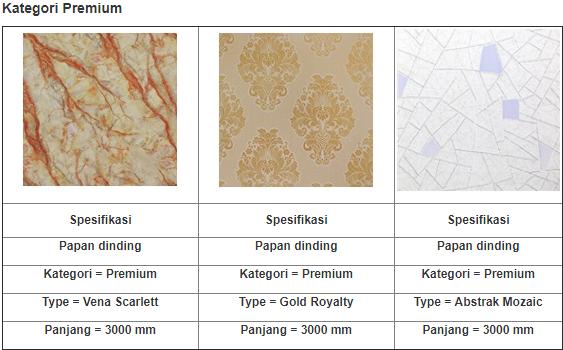 panel dinding premium